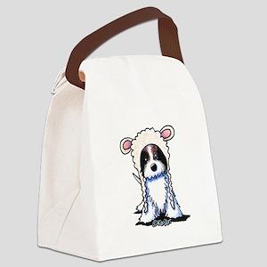 Coton De Tulear Lamb Canvas Lunch Bag