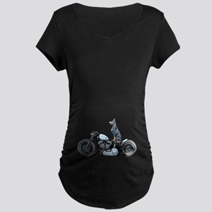 Dobercycle Maternity Dark T-Shirt