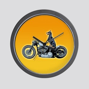Dobercycle Wall Clock