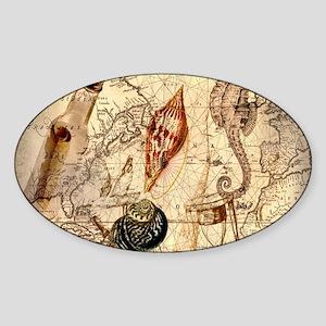 vintage nautical seashell Sticker