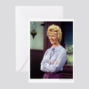 Miss B plain (color) Greeting Cards (Pk of 20)
