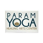 Param Yoga Rectangle Magnet