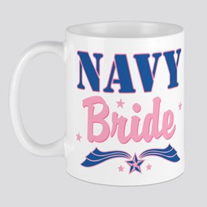 Star Navy Bride Mug