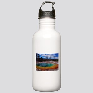 Ice Gold & Green Water Stainless Water Bottle 1.0L