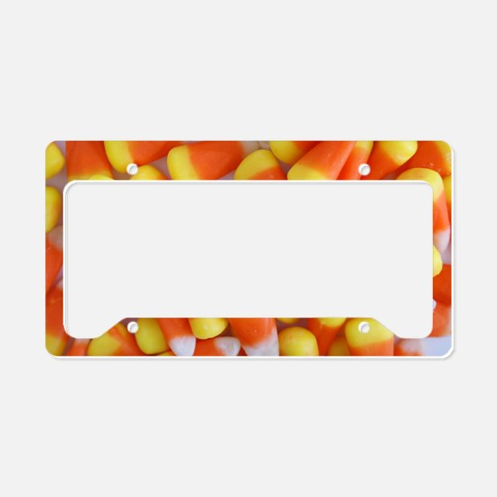 Candy Corn Galore License Plate Holder