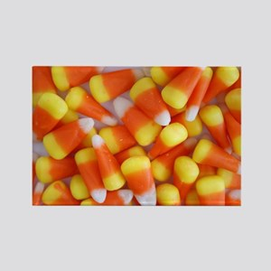 Candy Corn Galore Rectangle Magnet