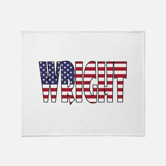 Wright Throw Blanket