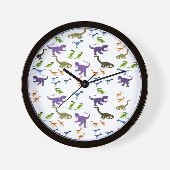 Dinosauria II Wall Clock
