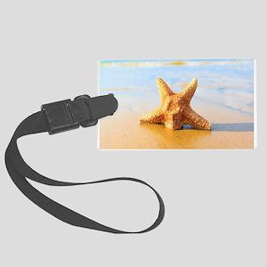 Tropica Beach Starfish Large Luggage Tag