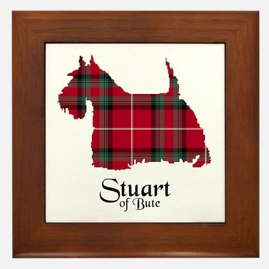 Terrier-StuartBute Framed Tile