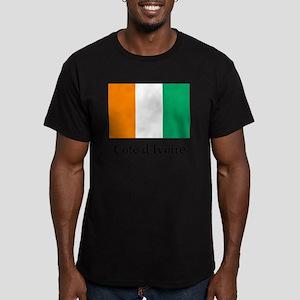 Flag Men's Fitted T-Shirt (dark)