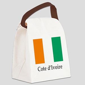 Flag Canvas Lunch Bag