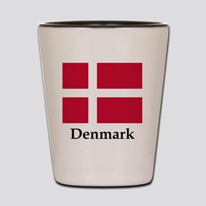 Denmark Flag Shot Glass