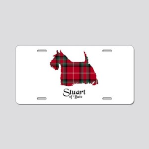 Terrier-StuartBute Aluminum License Plate