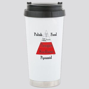 Polish Food Pyramid Stainless Steel Travel Mug