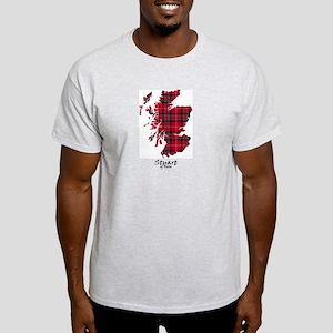 Map-StuartBute Light T-Shirt