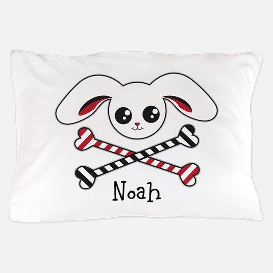 Pirate Bunny Pillow Case
