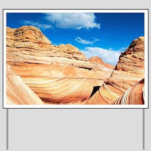 Desert Canyon Yard Sign