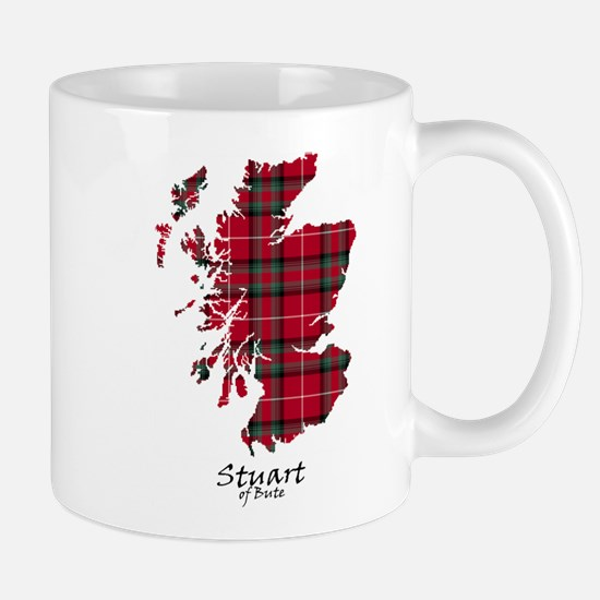 Map-StuartBute Mug