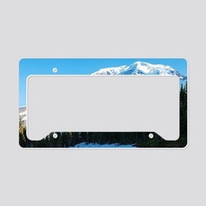 Mt. Rainier License Plate Holder