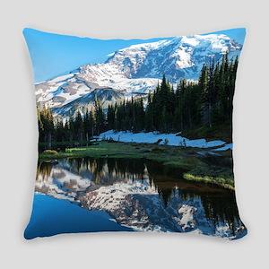 Mt. Rainier Everyday Pillow