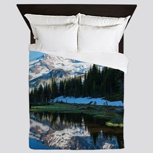 Mt. Rainier Queen Duvet