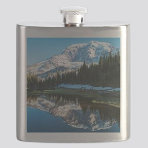 Mt. Rainier Flask