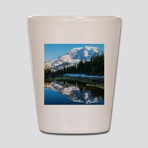 Mt. Rainier Shot Glass