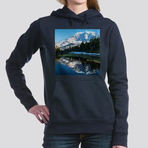 Mt. Rainier Women's Hooded Sweatshirt