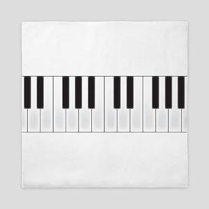 Piano Keys Queen Duvet