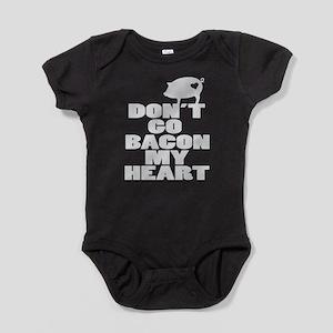 Bacon my Heart Baby Bodysuit