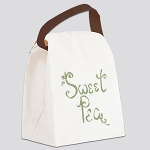 Sweet Pea Fun Quote Endearment Canvas Lunch Bag