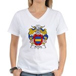 Arrieta Family Crest Women's V-Neck T-Shirt