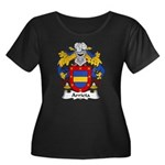 Arrieta Family Crest Women's Plus Size Scoop Neck