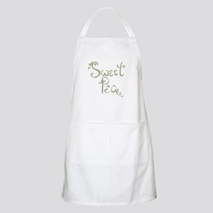 Sweet Pea Fun Quote Endearment Apron