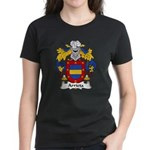 Arrieta Family Crest Women's Dark T-Shirt