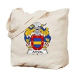 Arrieta Family Crest Tote Bag