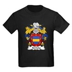 Arrieta Family Crest Kids Dark T-Shirt