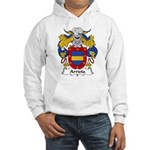 Arrieta Family Crest Hooded Sweatshirt