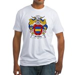 Arrieta Family Crest Fitted T-Shirt