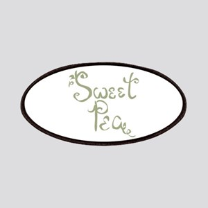 Sweet Pea Fun Quote Endearment Patch