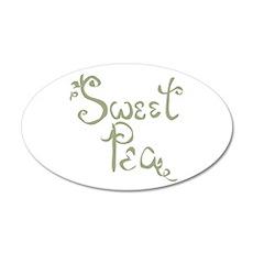 Sweet Pea Fun Quote Wall Decal