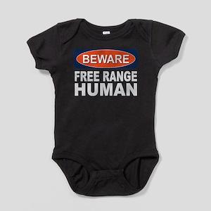 Free Range Humans Baby Bodysuit