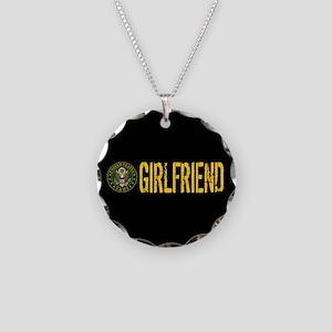 U.S. Army: Girlfriend Necklace Circle Charm