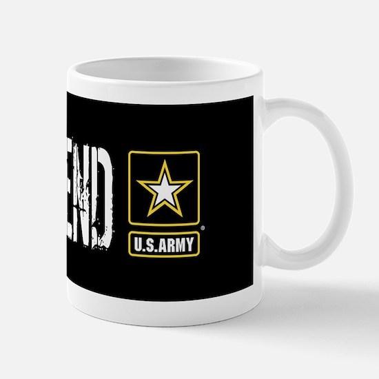 U.S. Army: Girlfriend (Black) Mug