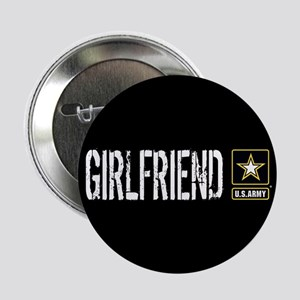 "U.S. Army: Girlfriend (Blac 2.25"" Button (10 pack)"