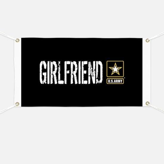 U.S. Army: Girlfriend (Black) Banner