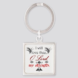 Psalm 18:1 Quote 1 Keychains