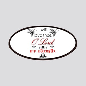 Psalm 18:1 Quote 1 Patch