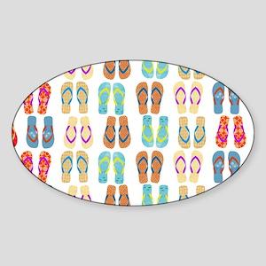 Beach Flip Flop Sticker